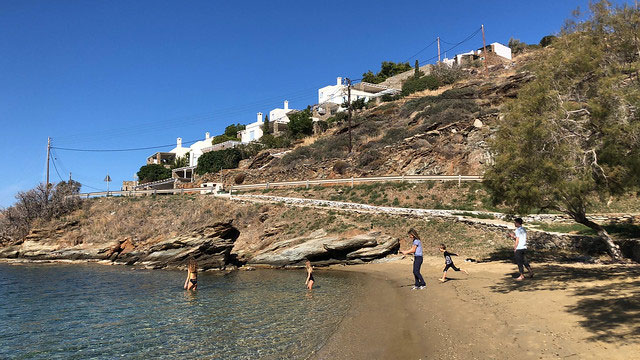 Cyclades camping