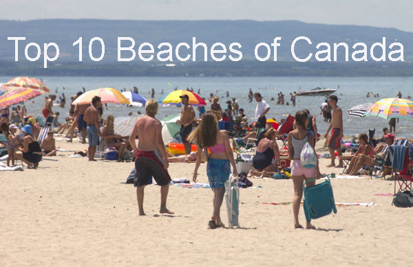 Top 10 Beaches of Canada