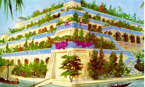 The Hanging Gardens of Babylon – A Natural Wonder