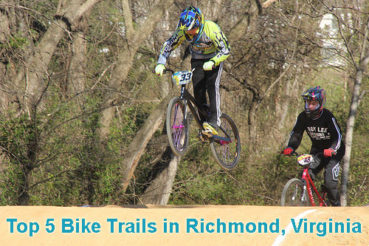 Richmond Bike Trails: 5 Best Places to Ride a Bike in Richmond, VA
