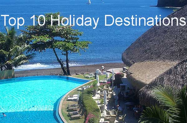 Top 10 Holiday Destinations of the World