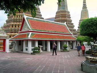 Wat Pho Monastery at Bangkok, Thailand