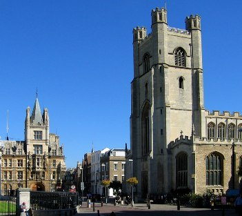The Historic Town of Cambridge