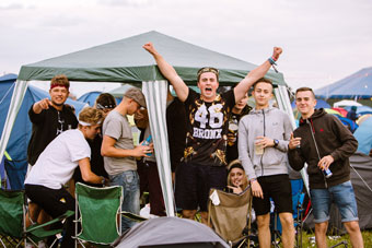 What Is Camping at Reading Festival Like?