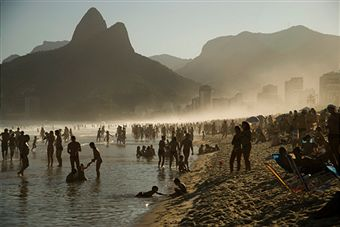 Hang Out with Friends and Family at Ipanema Beach, Brazil