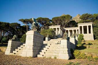 Rhodes Memorial in Cape Town, South Africa