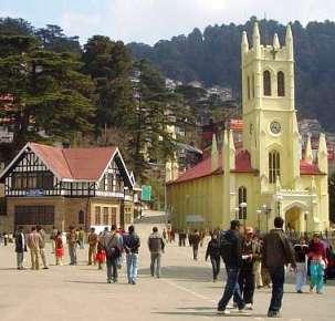 Shimla – The Erstwhile Summer Capital of British India